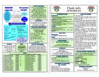 Flash sept 2020